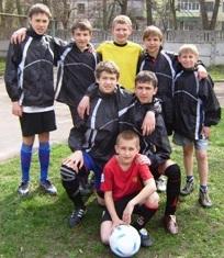 Команда Кіровоградської школи-інтернату