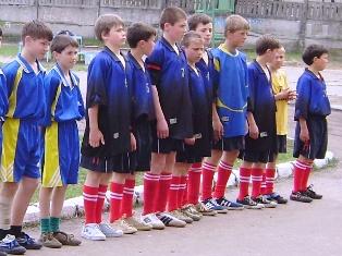 Команда Добровеличківської школи-інтернату