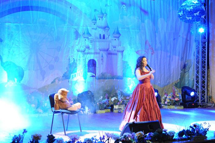 Руслана Риженко - фіналістка IV Міжнародного Фестивалю дитячої творчості «Назустріч мрії», 5 грудня 2010 р.
