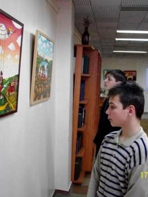 Виставка робіт Андрія Ліпатова у ОУНБ, 2011