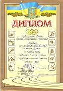 Грамота Кіровоградської обласної громадської організації 'Десятдет', 2008