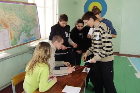 Конкурс =Карта= математично-спортивної естафети