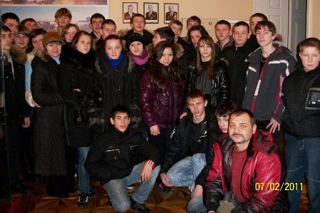 Екскурсія до музею заводу «Червона зірка», 2011 p.