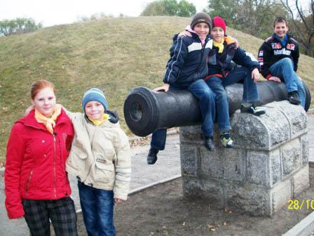 Поxід до Дня визволення Украіни, 2011 p.
